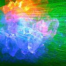 laser and crystals by Bernhard Adams