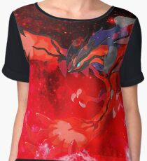 Pokemon X&Y - Yvetal Women's Chiffon Top