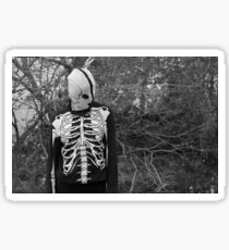 Lonely Skeleton  Sticker