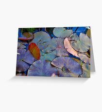 Lillypad Greeting Card