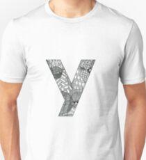 Zentangle Y Unisex T-Shirt