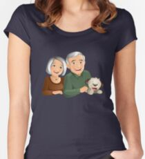Grand Parents Women's Fitted Scoop T-Shirt