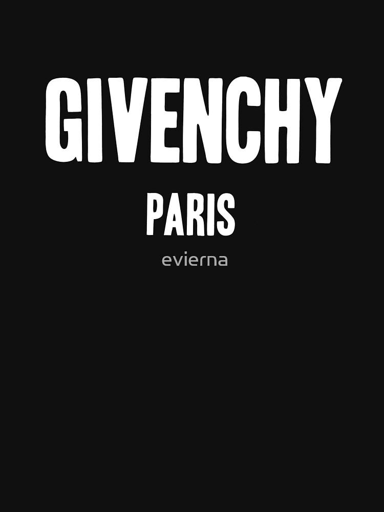 GIVENCHY PARIS | Unisex T-Shirt