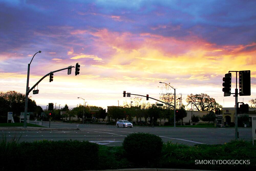 SUNRISE OVER ALAMO by SMOKEYDOGSOCKS