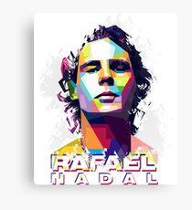 Rafael Nadal T-shirt Canvas Print
