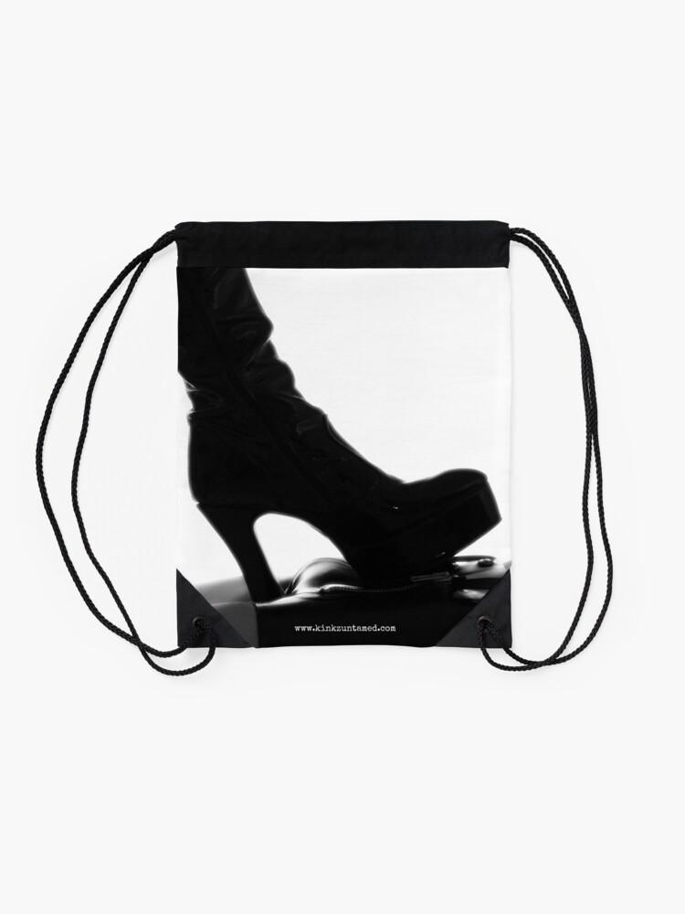 Alternate view of Heel, Boy Drawstring Bag