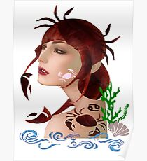 Astrology :-Cancer Poster