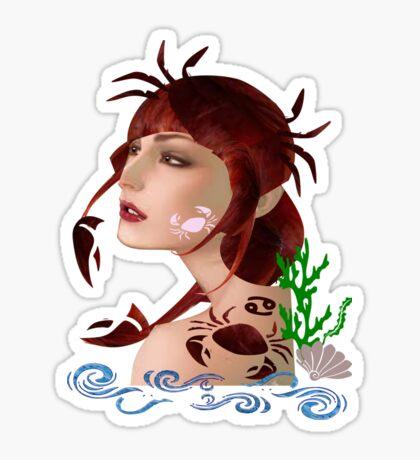 Astrology :-Cancer Sticker