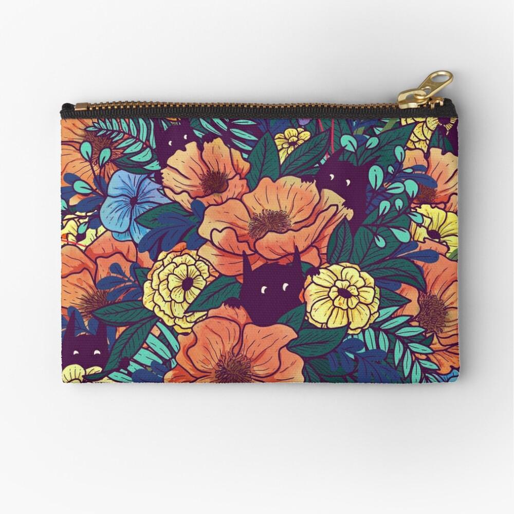 Wild Flowers Zipper Pouch