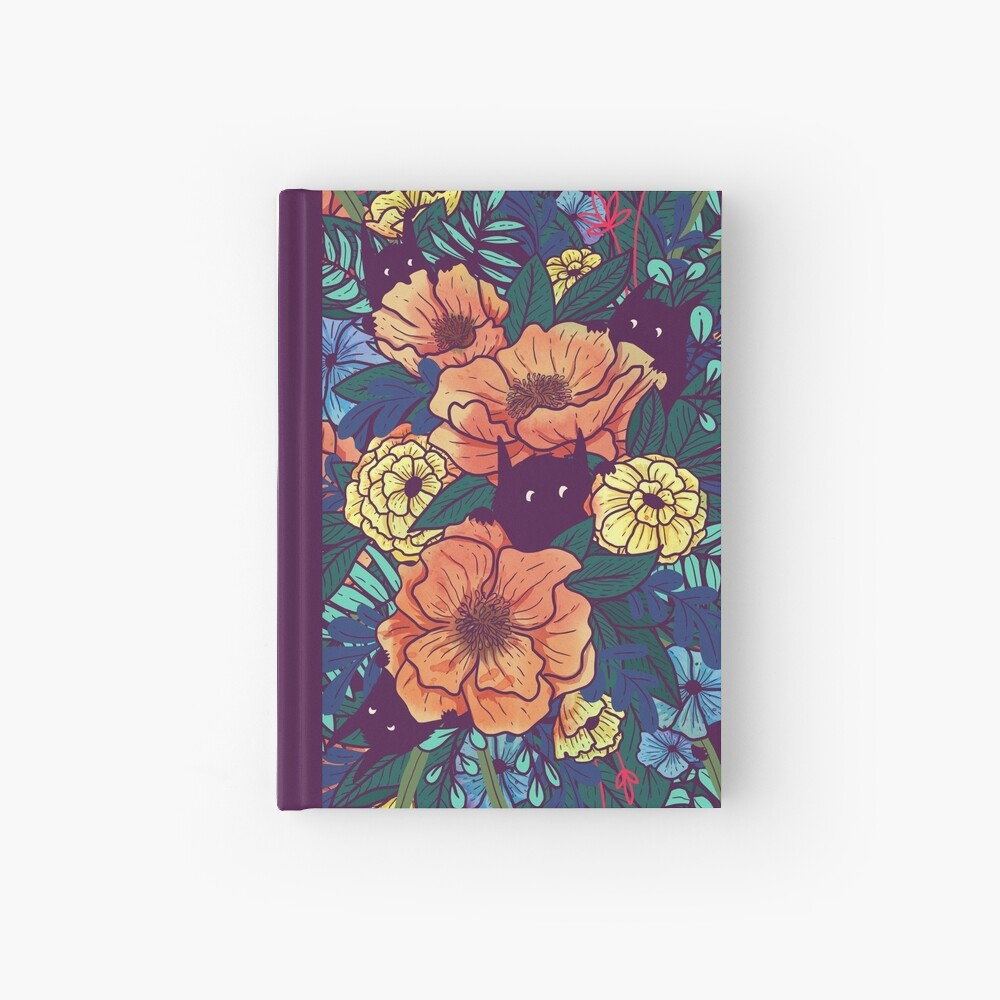 Wild Flowers Hardcover Journal