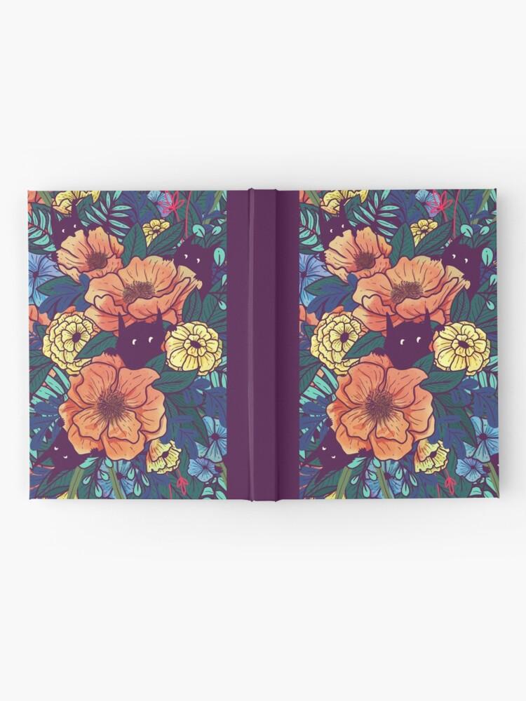 Alternate view of Wild Flowers Hardcover Journal