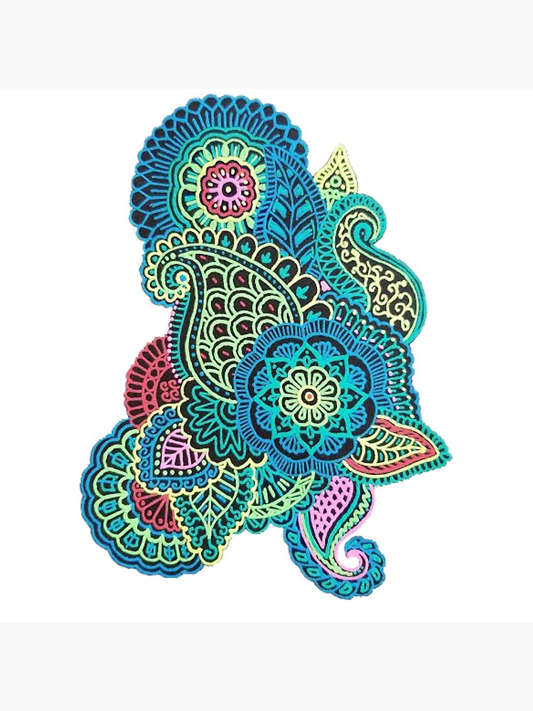 Colorido Zendoodle de chailyn