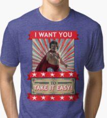 Nacho Libre - I Want You To Take It Easy Tri-blend T-Shirt