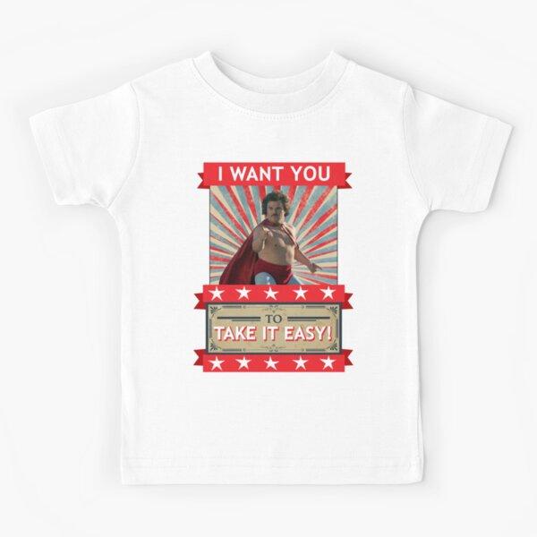 Nacho Libre - Quiero que lo tomes con calma Camiseta para niños