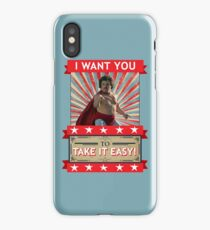 Nacho Libre - I Want You To Take It Easy iPhone Case/Skin