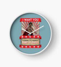 Nacho Libre - I Want You To Take It Easy Clock