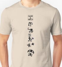 Mr. Game & Watch Moves Unisex T-Shirt