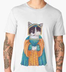 Tudor Cat Men's Premium T-Shirt