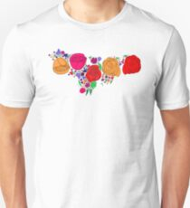 Mexican Flowers (variation) Unisex T-Shirt