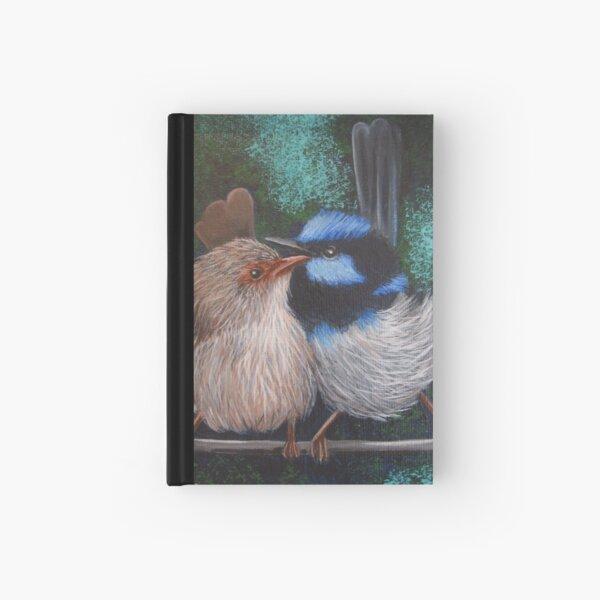 Fairy Wren Pair #1 Hardcover Journal