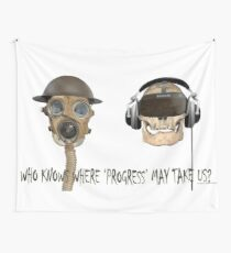 Teleological Claptrap 01 Wall Tapestry