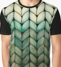 Olive Grove Knit Graphic T-Shirt