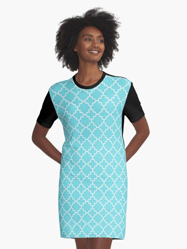 d2b8183347 Vestido camiseta «Quatrefoil-3