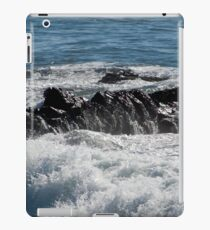 Black Rock and Blue Ocean iPad Case/Skin