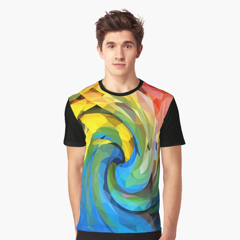 Lowpoly molinete Graphic T-Shirt Front