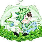 Jacksepticeye green blop by kiyoshilia