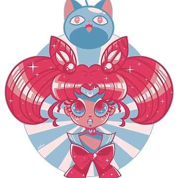 Chibi Moon by GrimmSugar