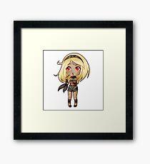 Kat's Pocky Framed Print