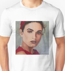 Girl in the Red Dress Unisex T-Shirt