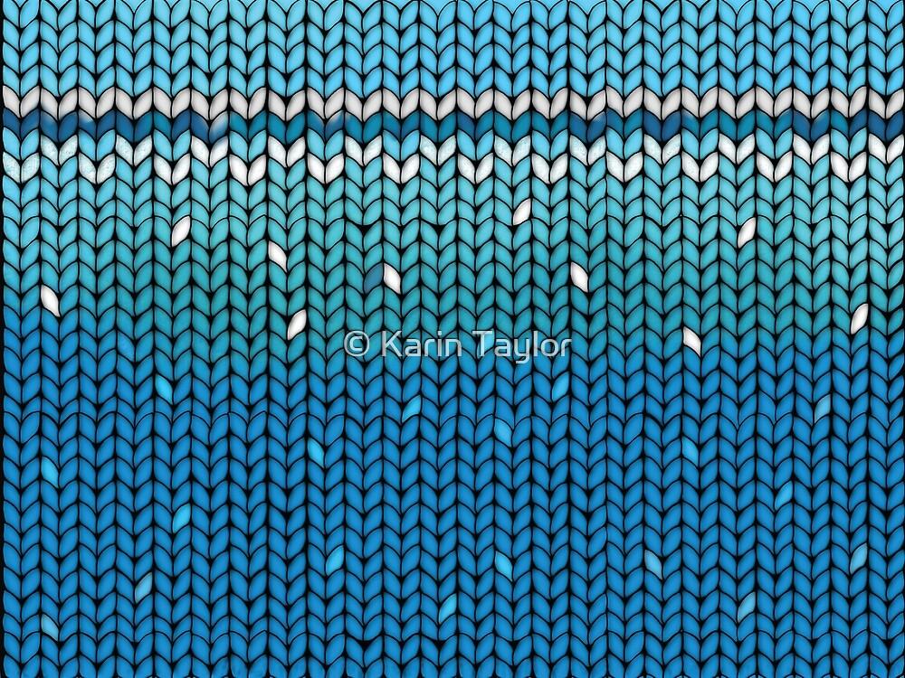 Aquamarine Knit by Karin Taylor