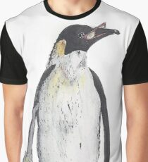 Penguin Accountant Graphic T-Shirt
