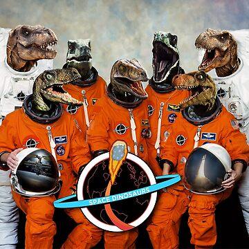 Dinosaurs... IN SPACE!! by girldani