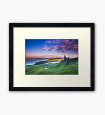 Lámina enmarcada Isla de Skye Escocia