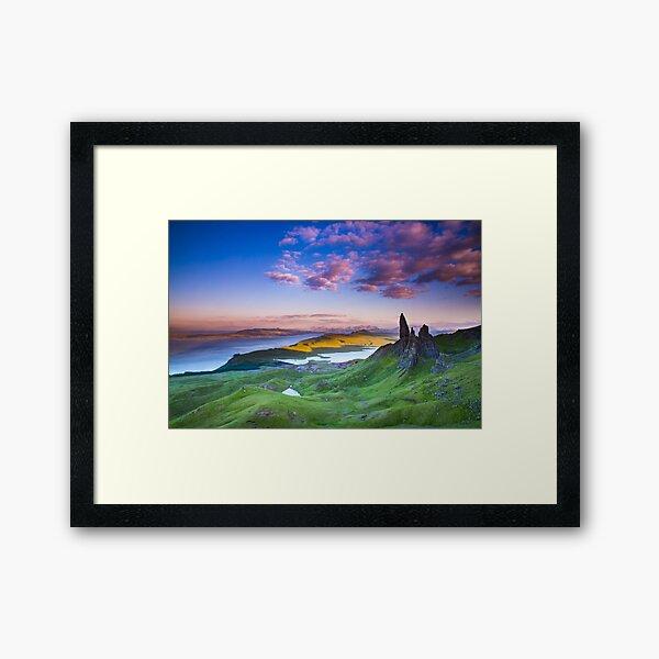 Isle of Skye Scotland  Framed Art Print