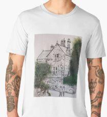 Old police house robinhoods bay Men's Premium T-Shirt