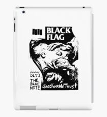 black flag iPad Case/Skin