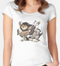 Where the Wild Things Are Women's Fitted Scoop T-Shirt
