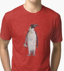 Penguin Accountant Tri-blend T-Shirt