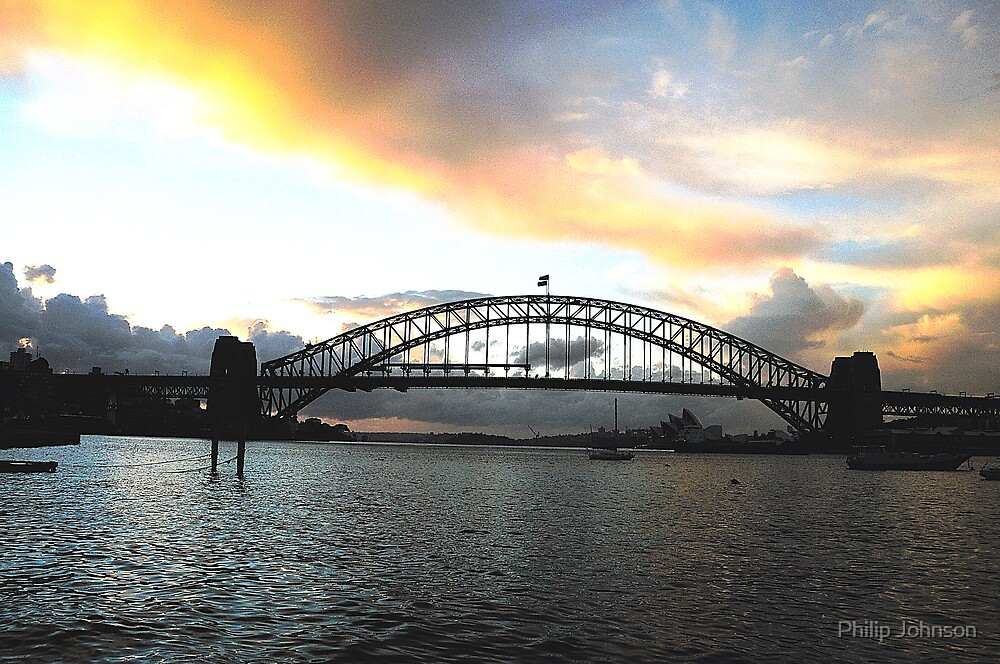 Masters Paintbrush - Sydney Harbour, Sydney Australia by Philip Johnson