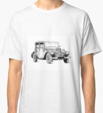 Old classic car retro vintage 02 Classic T-Shirt
