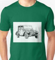 Old classic car retro vintage 02 Unisex T-Shirt