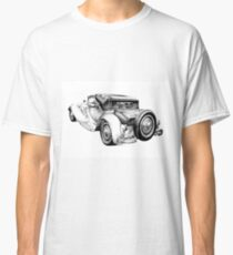 Old classic car retro vintage 04 Classic T-Shirt