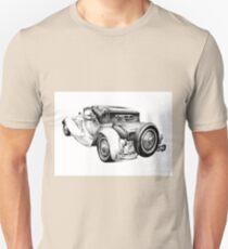 Old classic car retro vintage 04 Unisex T-Shirt