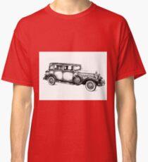 Old classic car retro vintage 05 Classic T-Shirt