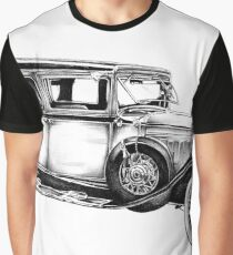 Old classic car retro vintage 05 Graphic T-Shirt