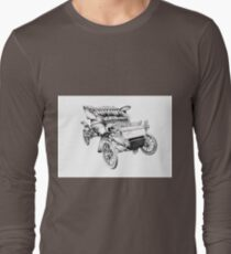 Old classic car retro vintage 06 Long Sleeve T-Shirt